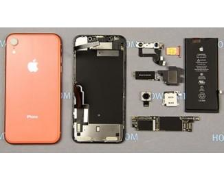iPhone XR замена крышки корпуса