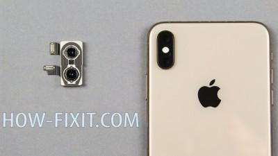 Замена камеры на iPhone XS Max