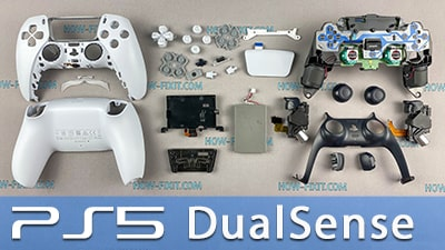 Як розібрати джойстик PS5 DualSense