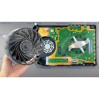 Разборка PS5 чистка от пыли