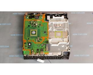 Разборка PS4 Slim чистка и замена термопасты