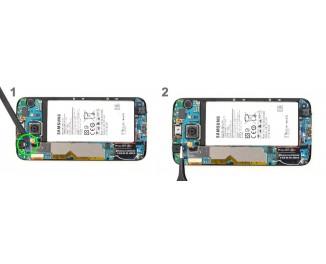 Как заменить фронтальную камеру Samsung Galaxy S6