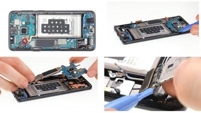 Как заменить материнскую плату Samsung Galaxy S9