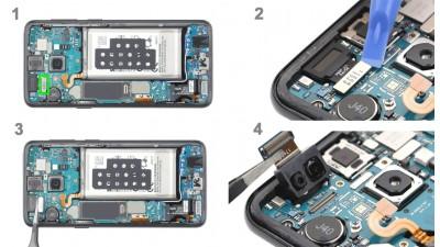 Как заменить фронтальную камеру Samsung Galaxy S9