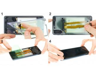 Как заменить заднюю крышку Samsung Galaxy A7