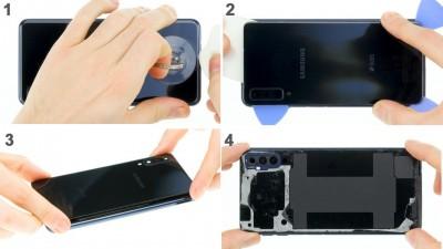 Как заменить дисплей Samsung Galaxy A7