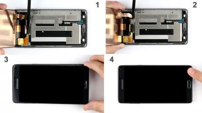 Как заменить дисплей Samsung Galaxy Note 4