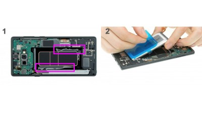 Как заменить батарею Samsung Galaxy Note 9