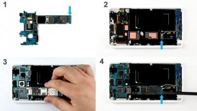 Как заменить материнскую плату Samsung Galaxy Note Edge