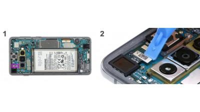 Как заменить фронтальную камеру Samsung Galaxy S10