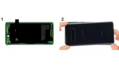 Как заменить заднюю крышку Samsung Galaxy S10