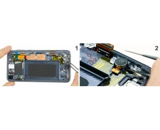 Как заменить вибро мотор Samsung Galaxy S10e