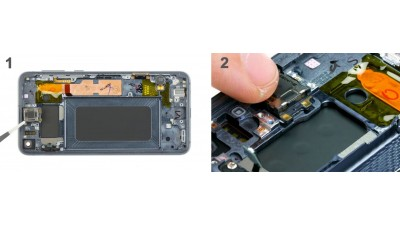 Как заменить слуховой динамик Samsung Galaxy S10e