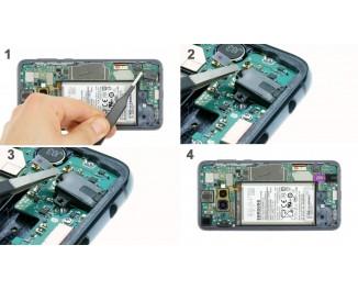Как заменить аудио разъем Samsung Galaxy S10e