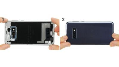 Как заменить заднюю крышку Samsung Galaxy S10e