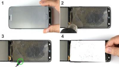 Как заменить дисплей Samsung Galaxy S5 Neo