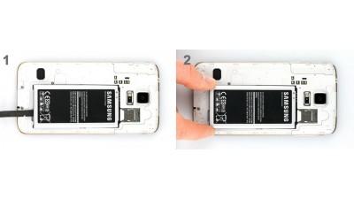 Как заменить батарею Samsung Galaxy S5