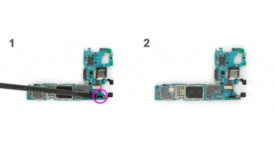 Как заменить фронтальную камеру Samsung Galaxy S5