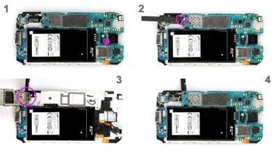 Как заменить гнездо питания Samsung Galaxy S5