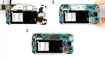 Как заменить материнскую плату Samsung Galaxy S5