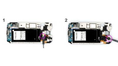 Как заменить вибро мотор Samsung Galaxy S5