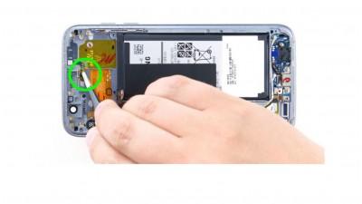 Как заменить вибро мотор Samsung Galaxy S7 Edge