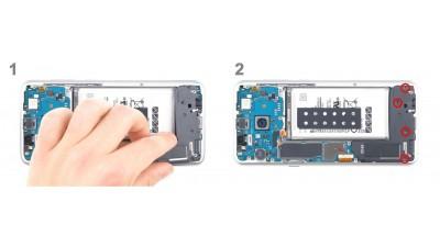 Как заменить динамик Samsung Galaxy S8+