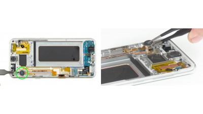 Как заменить вибро мотор Samsung Galaxy S8+