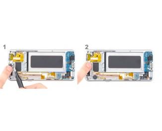 Как заменить слуховой динамик Samsung Galaxy S8+