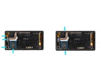 Как заменить дисплей с рамкой Sony Xperia Z2