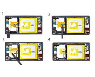 Как заменить батарею Sony Xperia Z2