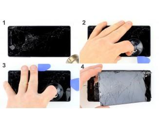 Как заменить дисплей Sony Xperia Z2