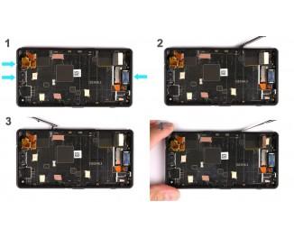 Как заменить дисплей Sony Xperia Z3 Compact