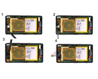 Как заменить основную камеру Sony Xperia Z3 Compact