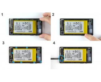 Как заменить шасси Sony Xperia Z5 Compact