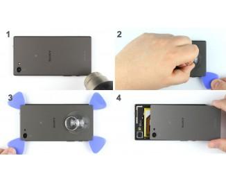 Как заменить заднюю крышку Sony Xperia Z5 Compact