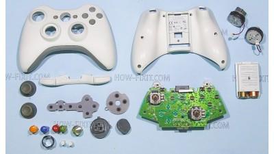 Как разобрать джойстик Xbox 360