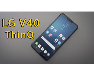 Обзор мобильного телефона LG V40 ThinQ