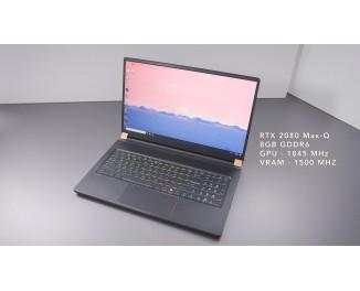 Обзор ноутбука MSI GS75 Stealth
