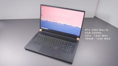 Огляд ноутбука MSI GS75 Stealth