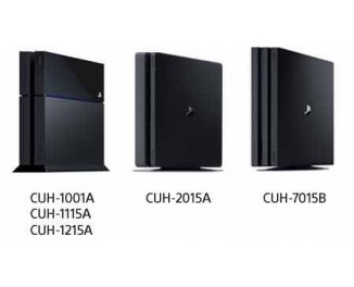Где указан серийный номер и номер модели PS4