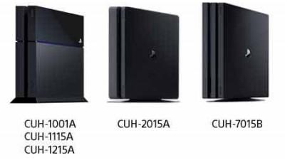 Де вказано серійний номер і номер моделі PS4