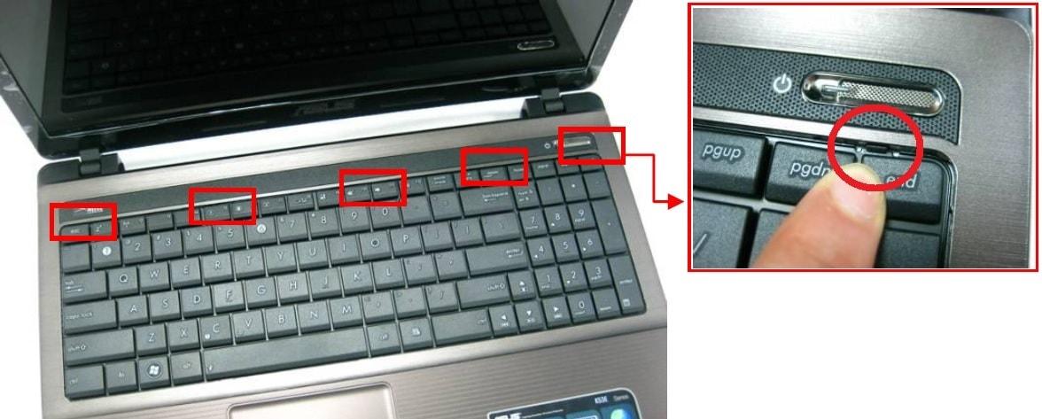 как правильно отсоединять и снимать клавиатуру ноутбука
