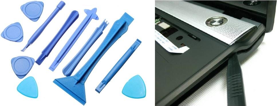 спанджеры пластиковые медиаторы для разбора ноутбука